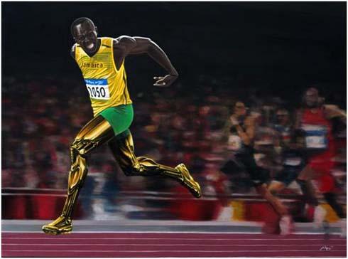 Usain Bolt Wallpaper Faster Than Light In 2012