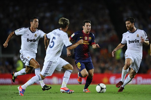 Real Madrid Barcelona Ronaldo vs Messi