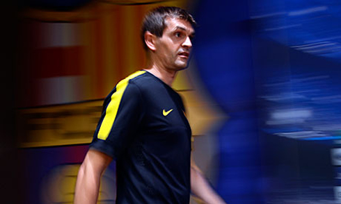 Tito Vilanova is the new Barcelona head coach and manager, in 2012