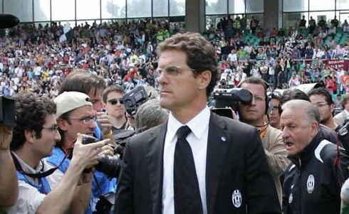 Fabio Capello as Juventus FC manager and head coach