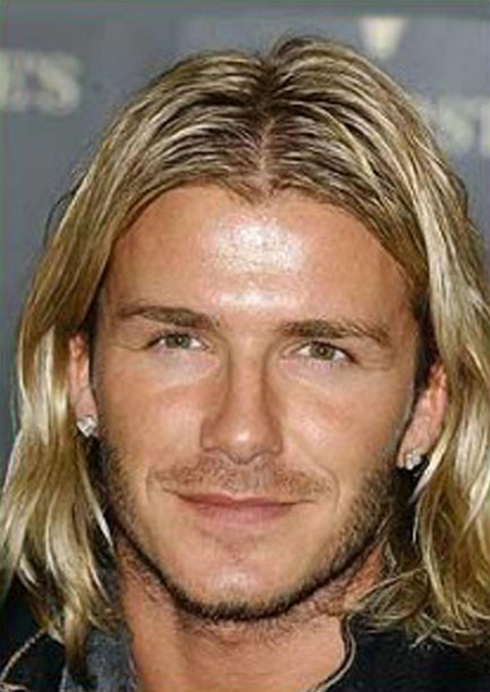 Gullit David Beckham And Ronaldo Are Criticized For Being Handsome - Cr7 blonde hairstyle
