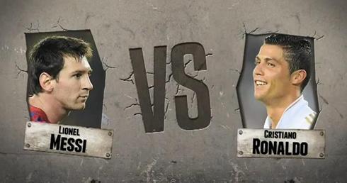 Cristiano Ronaldo Vs Lionel Messi Poster And Wallpaper  Season 2012