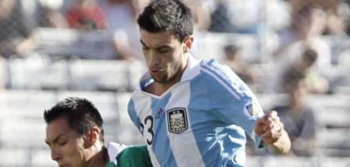 Javier Pastore playing for the Argentinian National Team, in 2012-2013