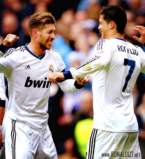 Real Madrid can't stop Ramos and Ronaldo joining Man Utd ... |Sergio Ramos And Cristiano Ronaldo