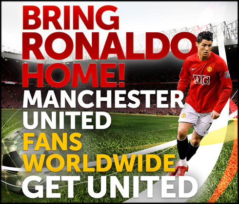 Bringronaldohome.org:  Viral campaign to Bring Ronaldo Home to Manchester