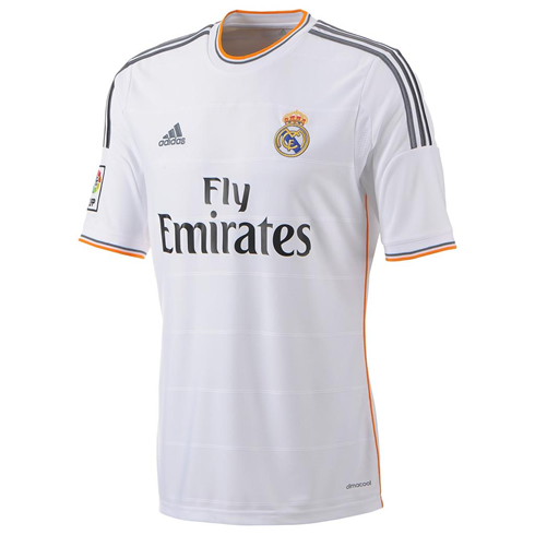 Real Madrid New Jersey And Shirt For 2013 2014  With Fly Emirates As
