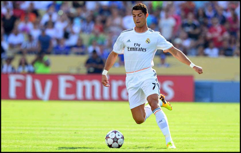 Cristiano Ronaldo in Real Madrid 2013