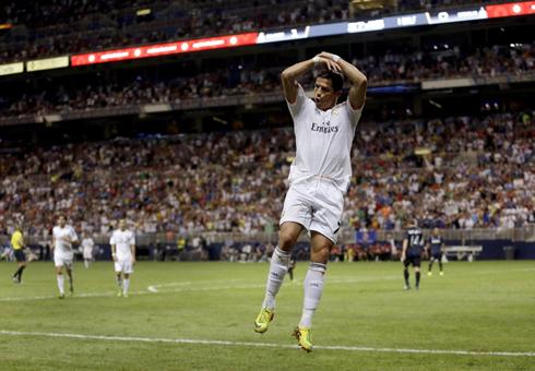 Cristiano Ronaldo torero goal celebration
