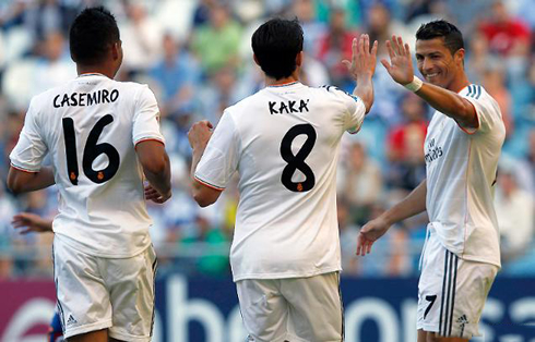 http://www.ronaldo7.net/news/2013/08/706-cristiano-ronaldo-cheering-his-brazilian-friends-at-real-madrid-kaka-and-casemiro-in-2013.jpg