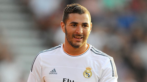 Karim Benzema New Haircut And Hairstyle For 2013 2014
