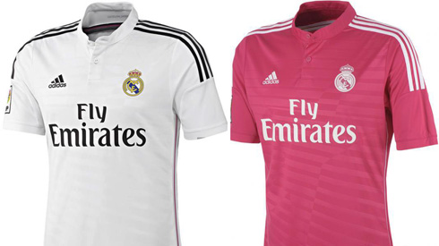 brand new 4dbb8 6cbcc Real Madrid new jerseys for the 2014-2015 season: White and ...