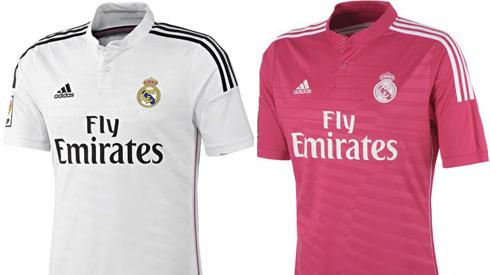 Jersey Baru Real Madrid Pink