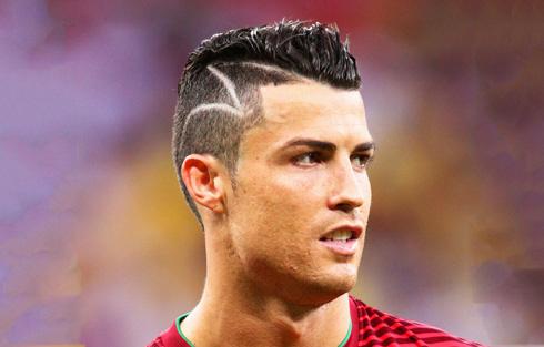 cristiano ronaldo haircut 2014 world cup back www