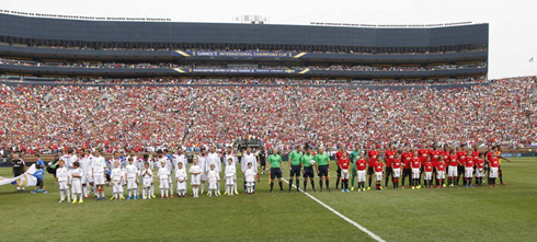 Real Madrid 1 3 Manchester United The Us Tour Finishes With