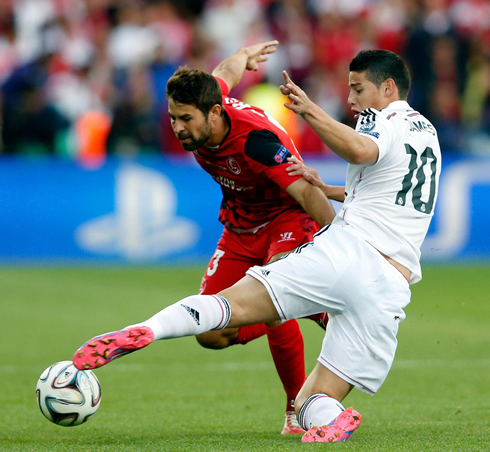 James Rodriguez Debut For Real Madrid In 2014 15