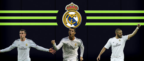 Real Madrid Attackers Wallpaper 2014 2015