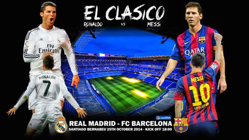 Messi 2014 Clasico Ronaldo vs Messi in el Clasico