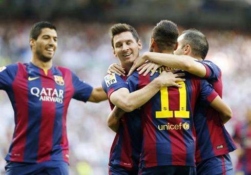 Luis Suarez  Messi  Ne...