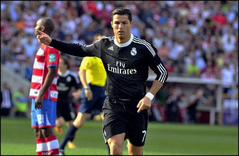 Granada 0 4 Real Madrid Beating Delivered La Liga Cristiano