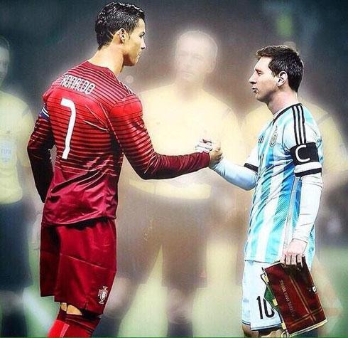 Ronaldo Vs Messi Wallpaper 2014 The FIFA Ballon d'Or 2...