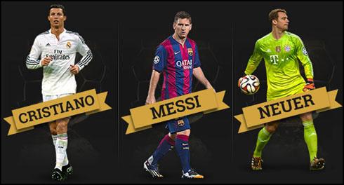 Lễ Trao Giải Quả Bóng Vàng FIFA 2014