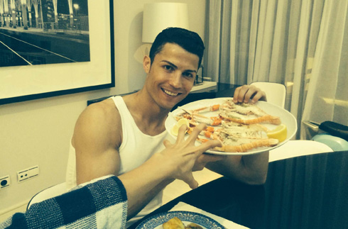 Follow This Diet in Order to Look like Cristiano Ronaldo!