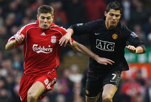 Cristiano Ronaldo Pays His Tribute To Liverpool S Steven Gerrard