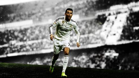 Cristiano Ronaldo In A Real Madrid Wallpaper 2015