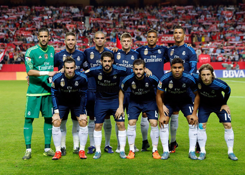 Sevilla 3-2 Real Madrid. First loss of the season right ...