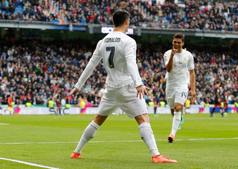 Real Madrid 7-1 Celta Vigo. Ronaldo gets the job done!