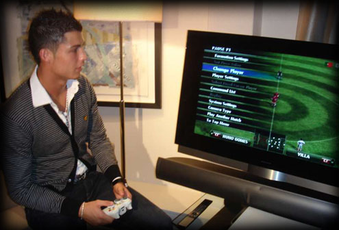 Cristiano Ronaldo will be the cover of PES 2012