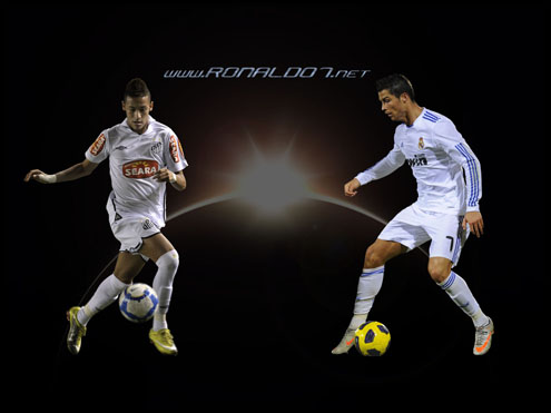 Wallpaper Ronaldo on Neymar   Cristiano Ronaldo Has Style  But I M The Handsome One