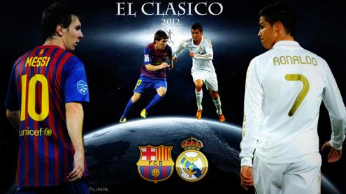 Lionel Messi I Cristiano Ronaldo Tapety