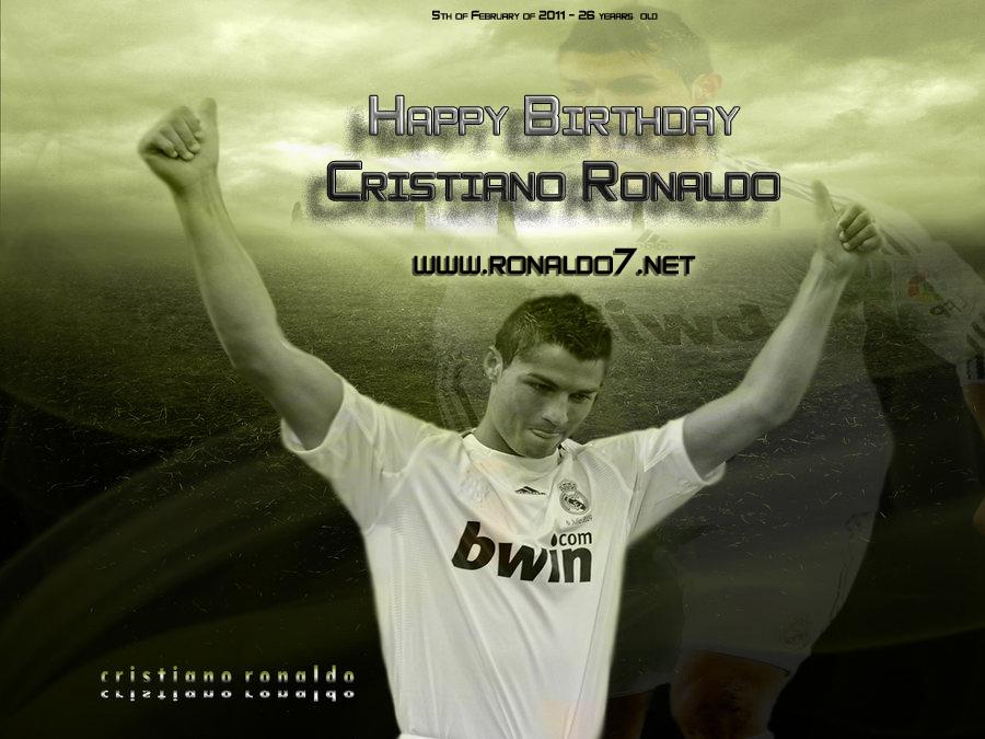 Cristiano Ronaldo Anniversary 5th Of February Happy