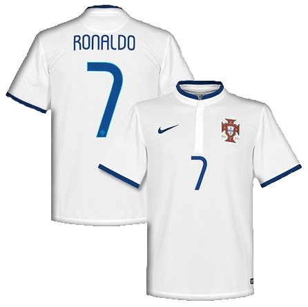 Cristiano Ronaldo World Cup 2014 red jersey