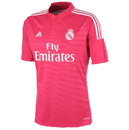 Cristiano Ronaldo Real Madrid Away Pink Jersey Shirt Uniform kit 2014/15