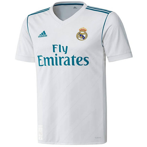 Real Madrid home jersey 2017-18